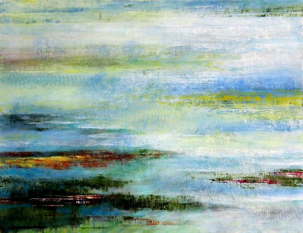 Paysage - Huile / Toile 89 x 116 - Ref 202