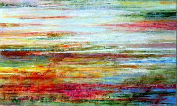 Marée basse - Huile / Toile 97 x 146 - Ref 210